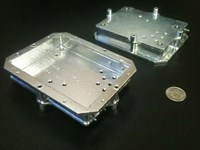 Aluminum Black Box Housing for Aviation