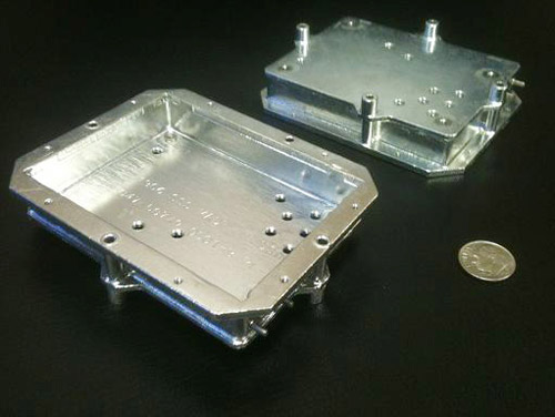 Aluminum Black Box Housing