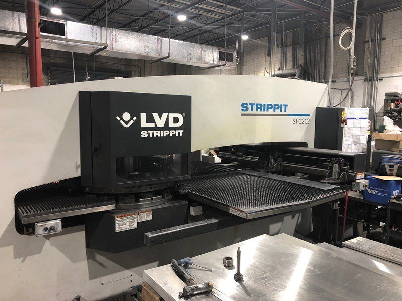 LVD_Strippit_ST_1212_Hydraulic_Thin_Turrent_Punch_Press